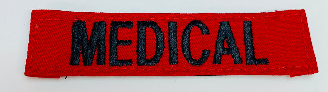 MEDICAL Patch  Medical Gear Outfitters  medical-gear-outfitters.myshopify.com Medical Gear Outfitters