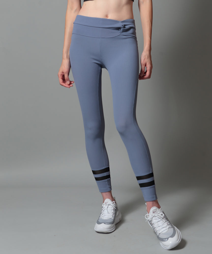 Ribbed Vertical Leggings - CORCOPI