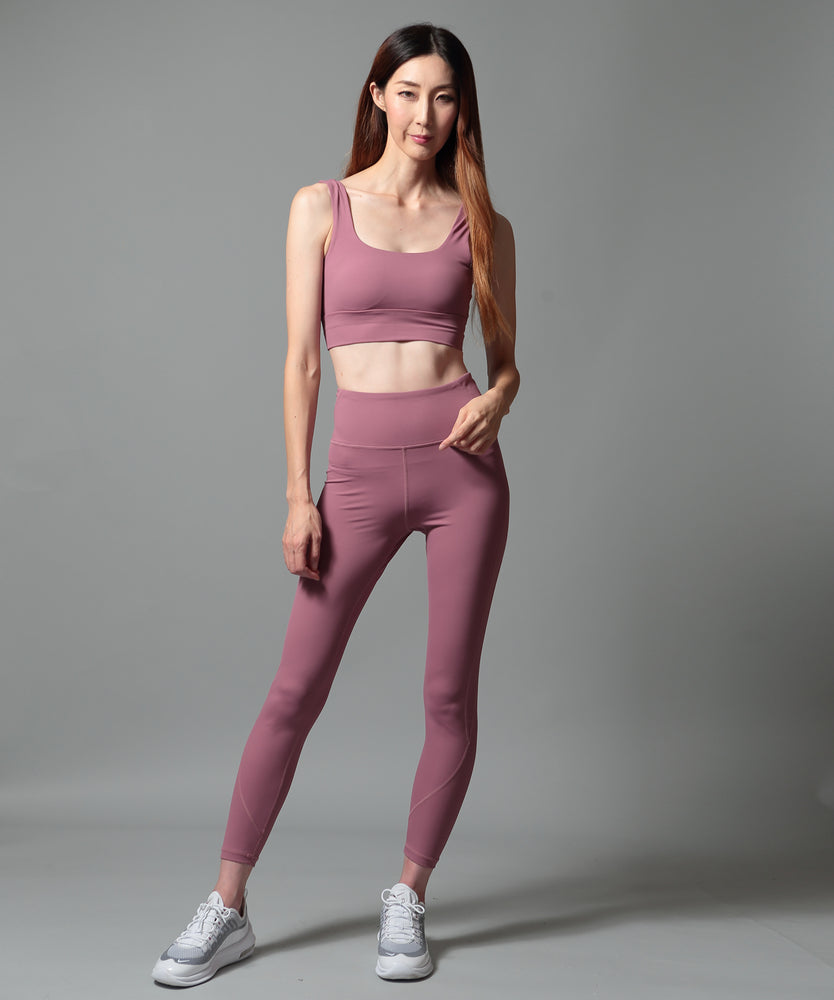 High-Waist Switching Airy Leggings - CORCOPI®