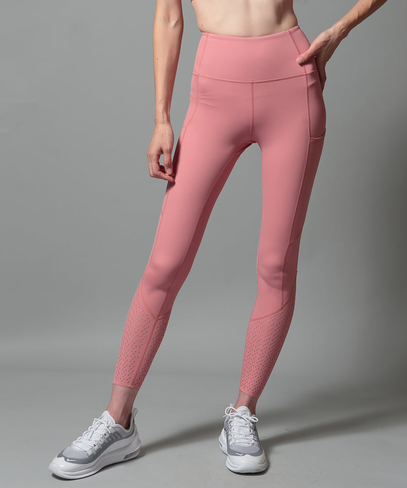 High-Waist Ankle Airy Leggings - CORCOPI