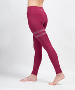 Rings 3 Line Painted Leggings - CORCOPI®