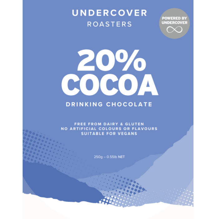 20% Cocoa Drinking Chocolate - 1kg
