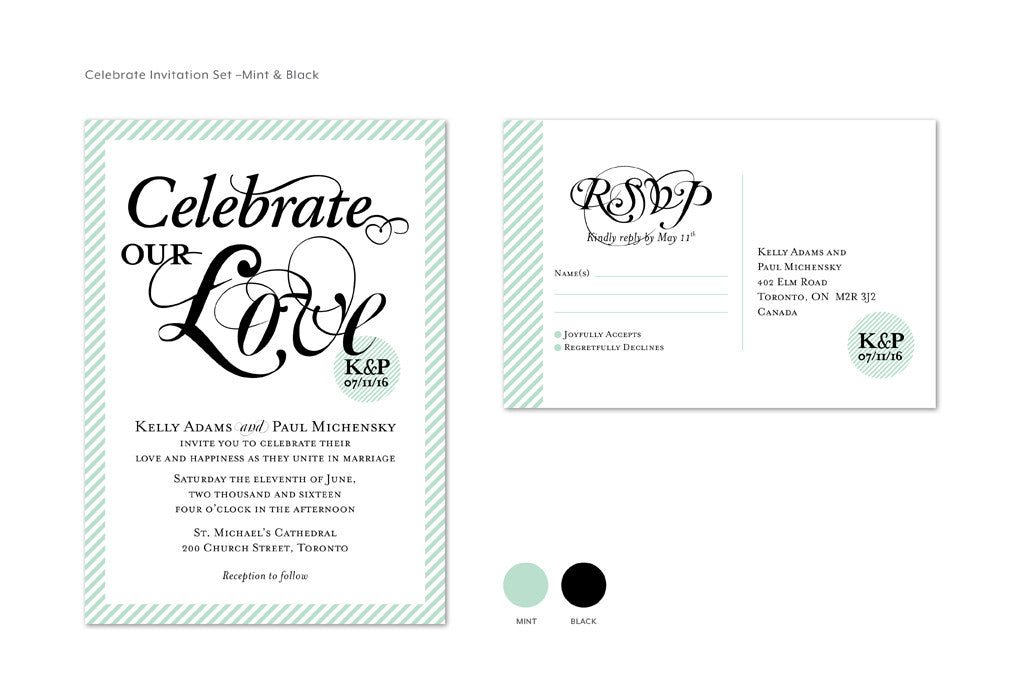 Celebrate Invitation Set