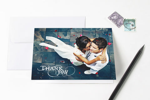 Celebrate Photo Thank You Card