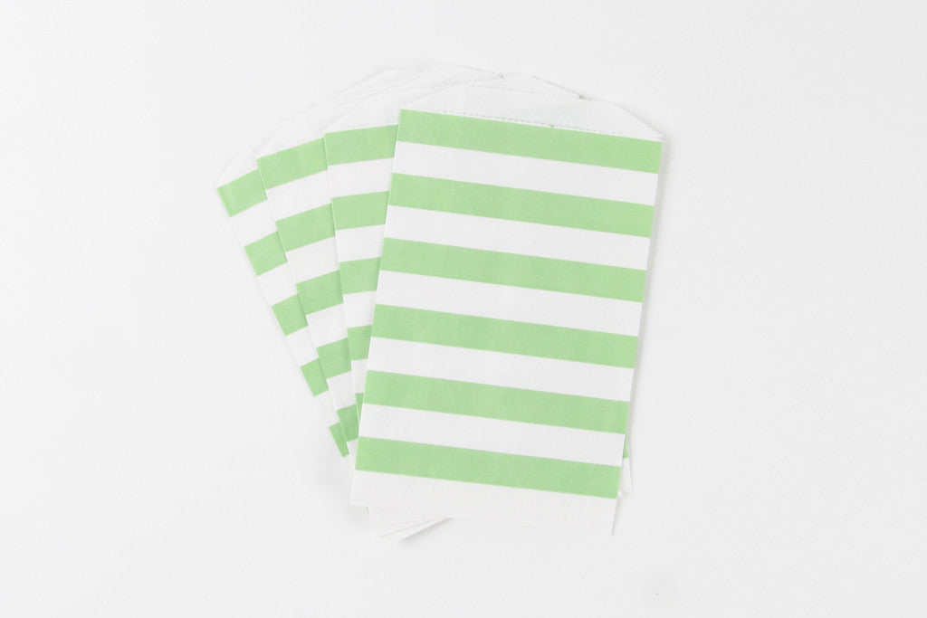 Stripe Favour Bags