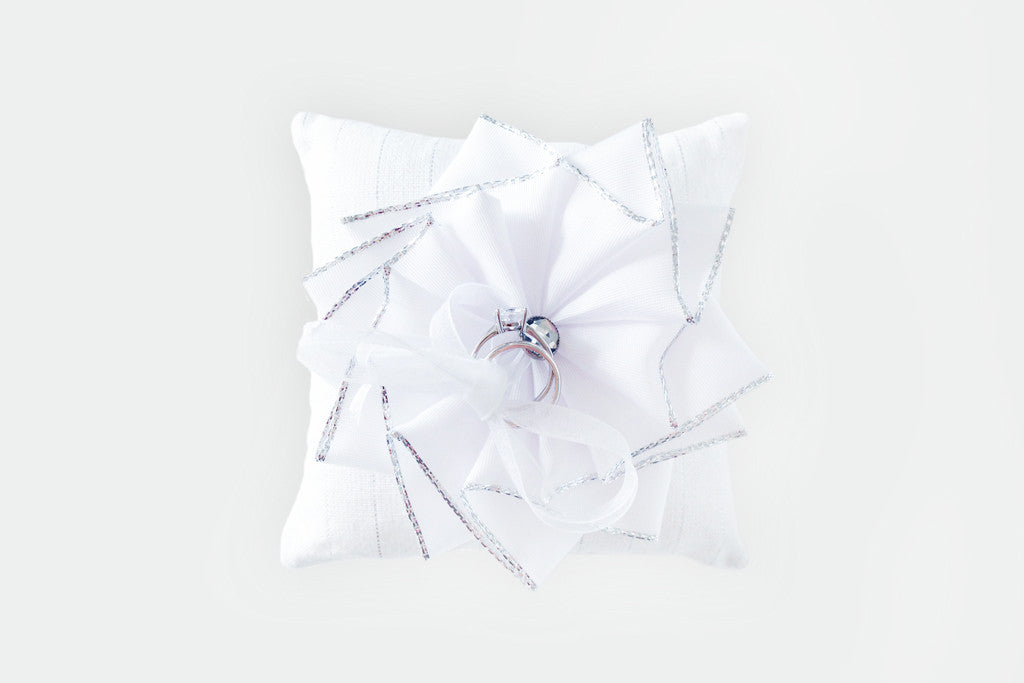 Sparkle Ring Pillow