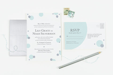 Sparkle Invitation Set