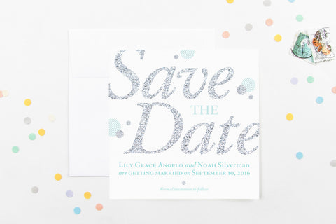 Sparkle Save The Date