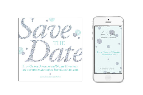 Sparkle Save the Date (digital)