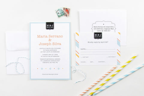 Carousel Invitation Set
