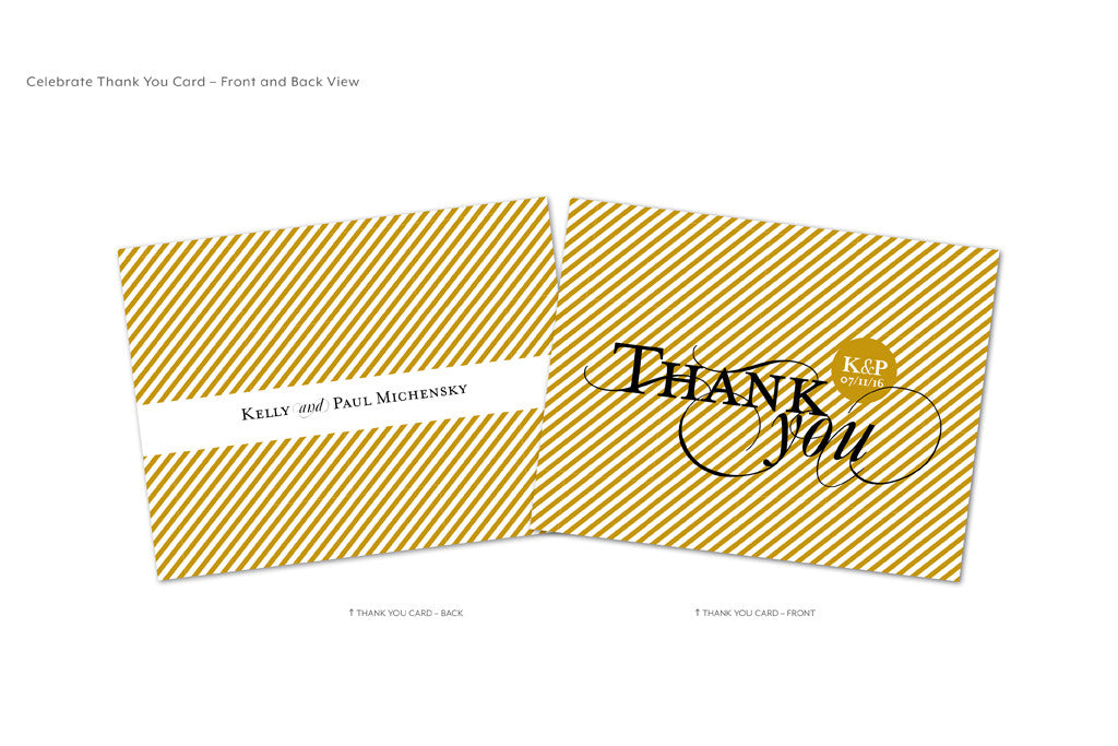 Celebrate Thank You Card