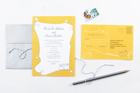 Owl Always Love You Invitation Set