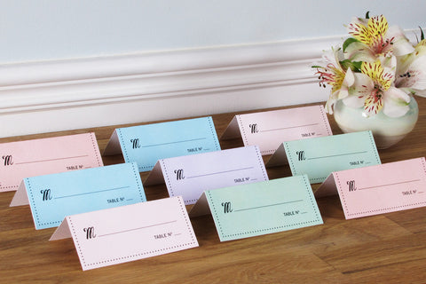 So Chic Place Cards
