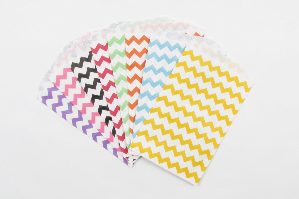 Chevron Favour Bags