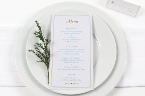Forest Hill Menu