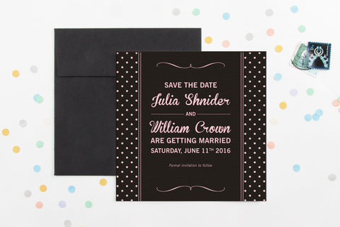 So Chic Save The Date
