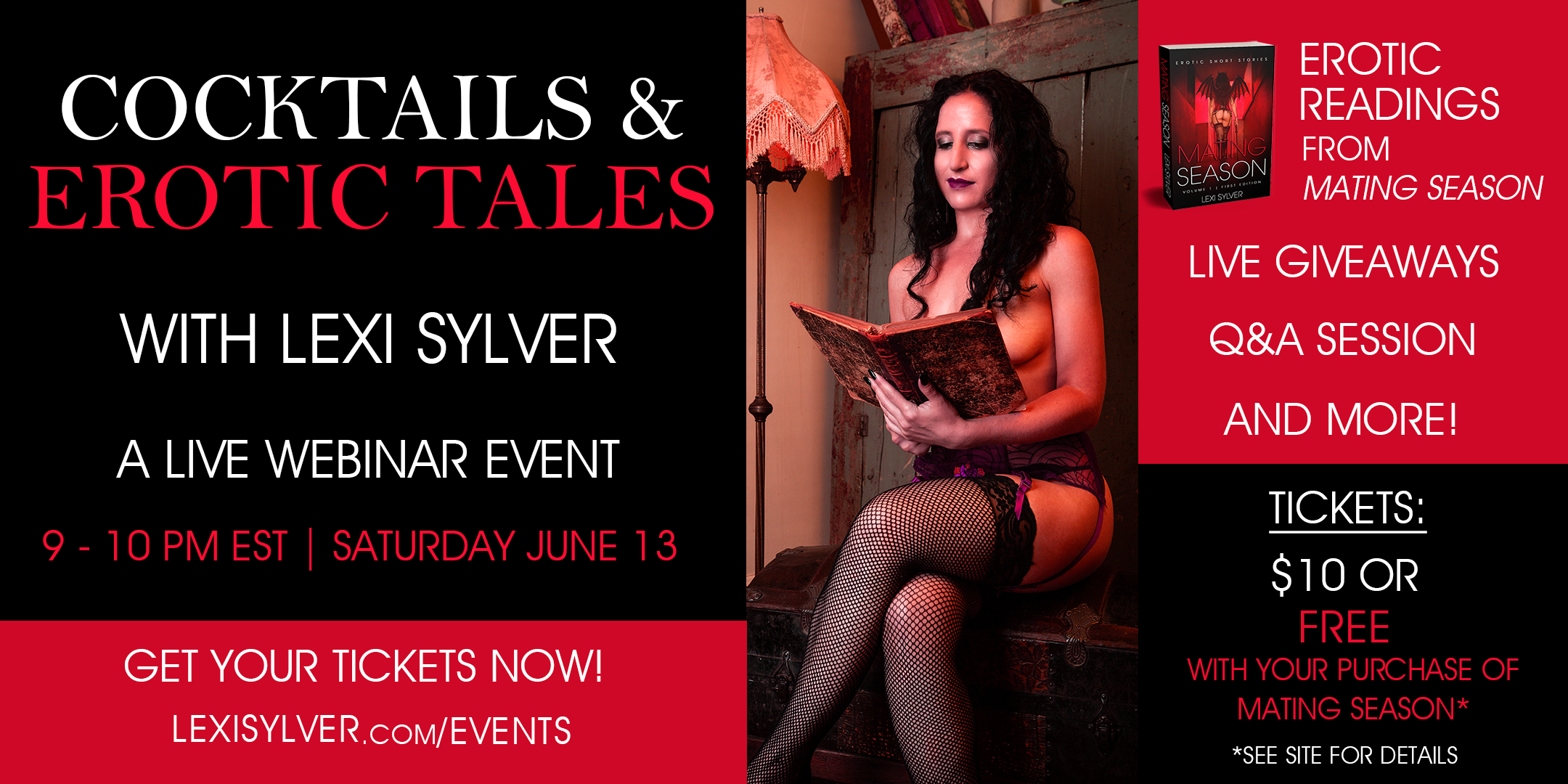 Lexi Sylver Cocktails & Erotic Tales
