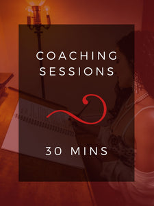 Coaching Session (30 mins)