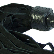 Suede and Leather Flogger 18""