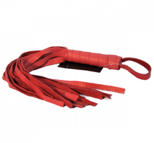 Soft Leather Flogger 16""
