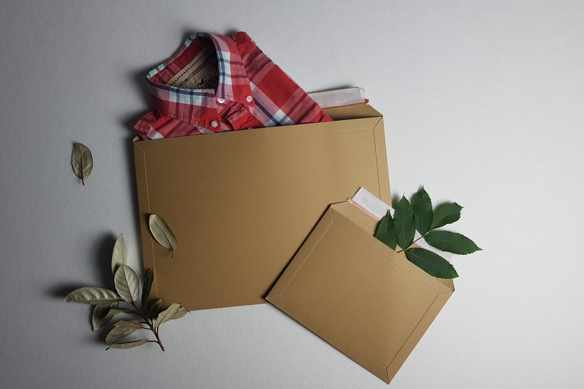 Enviroflute - All-Paper Brown Manilla Mailing Bags