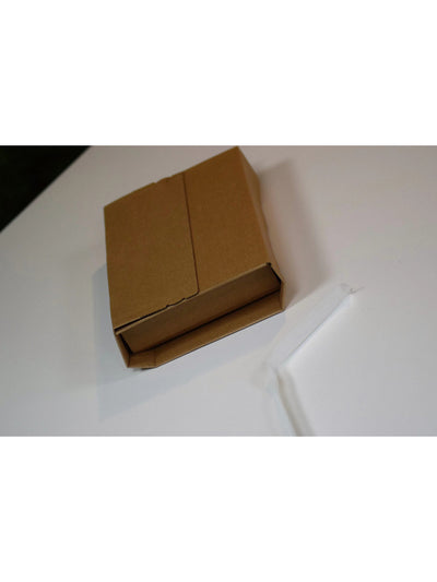 245 x 165mm x (20-70mm) Brown Peel & Seal Book Wrap  BWR03