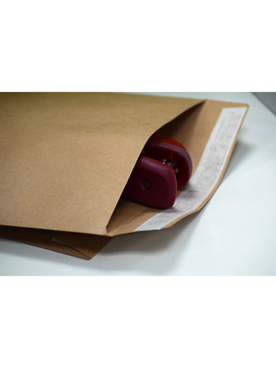 324 x 229mm C4 ExMill Extra Tough Brown Manilla 140gsm Peel & Seal Mailing Bag EM657