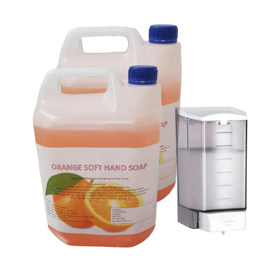 Bulk Fill Wall Mounted Dispener Option (Next Day Delivery) either 10L of Soap or 5L of Alcohol Sanitiser