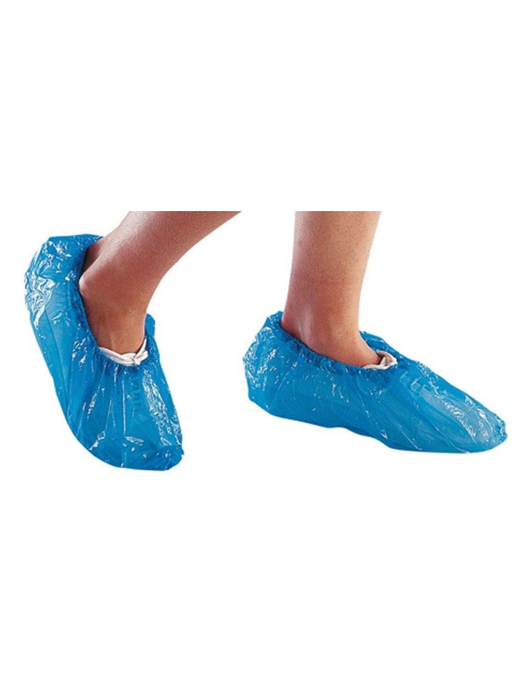 Disposible Overshoe Blue 16″ (Pack of 100) - IN STOCK, for SAME DAY Dispatch - (Tag on Item, Order Value Must Be above £30 Ex Vat)