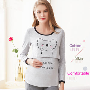 Fashion Koala Pregnancy/Breastfeeding Shirt - Childzstuff