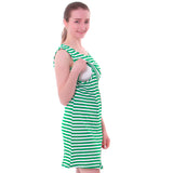Striped Breastfeeding Dress - Childzstuff