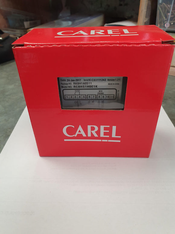 Controller Carel electronic to suit CCE upright Refrigerators - RCBHS1H0E1K