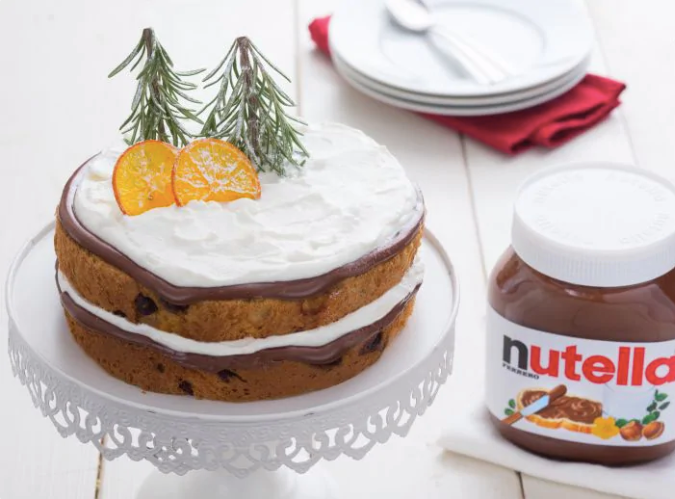 PANETTONE CAKE WITH NUTELLA®