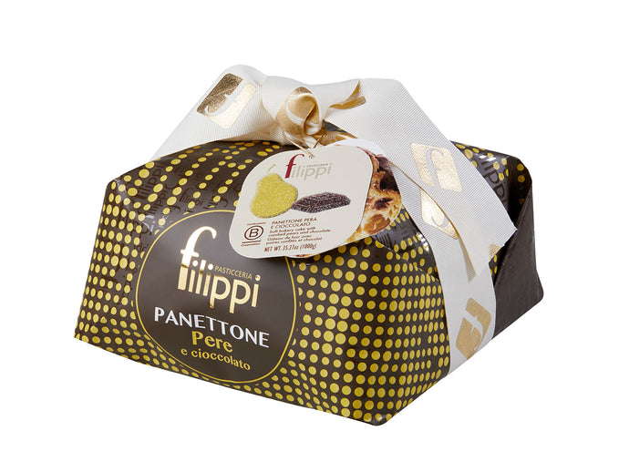 Filippi Patisserie | Panettone With Pears and Chocolate
