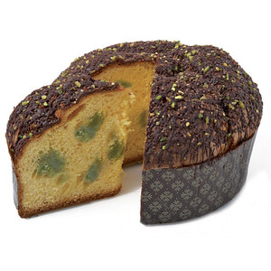 Chiostro Di Saronno | Pistachio Cream and Dark Chocolate Panettone