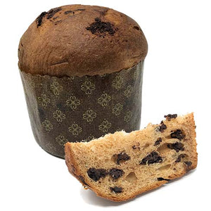 Chocolate Chip Italian Panettone | Christmas Cake