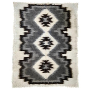 DUTCH RUG, LONG WOOL