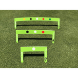 Eyeline Golf Putting Path Gates - 3 piece set - NEW 2