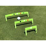 Eyeline Golf Putting Path Gates - 3 piece set - NEW 3