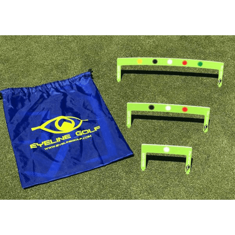 Eyeline Golf Putting Path Gates - 3 piece set - NEW 1