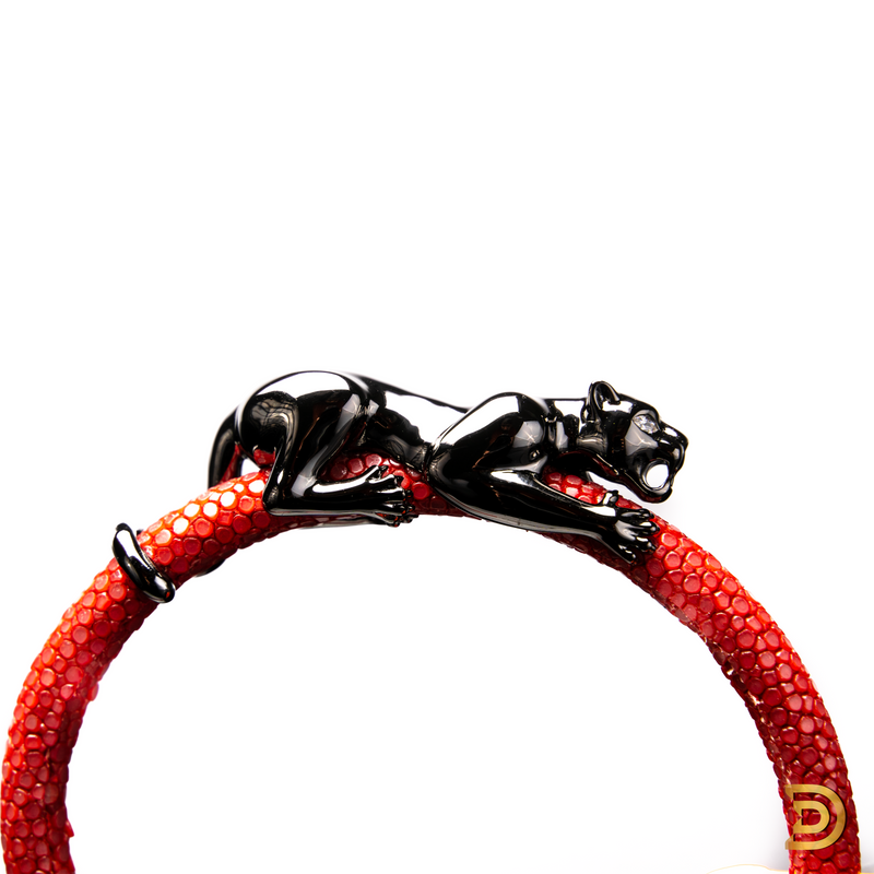 Fier Panther Men's Bracelet