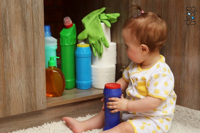 How to Keep Detergents Out of The Reach of Toddlers