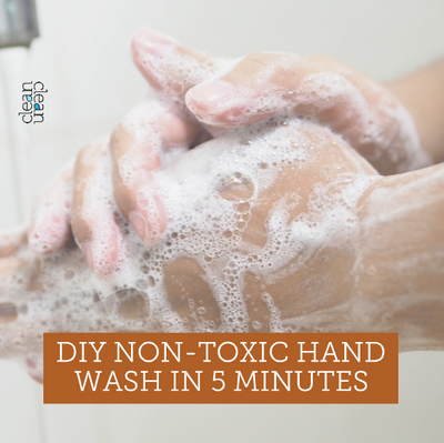 DIY Naturally Antibacterial Hand Soap with Essential Oils