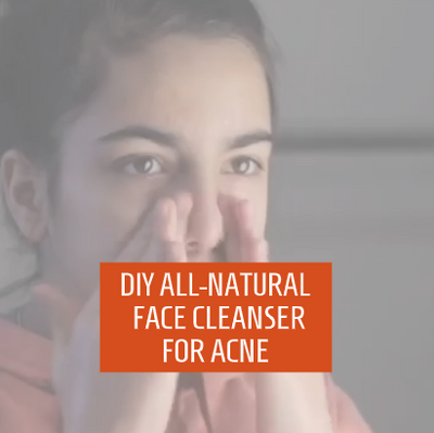 DIY Teen Face Cleanser with Soapbark