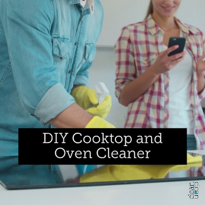 DIY Cooktop and Oven Cleaner with Soapbark