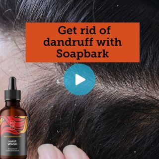 Soapbark fights the fungus that causes dandruff