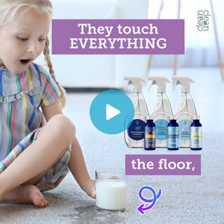 Why use cleaners that are safe for kids?