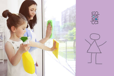 cleanclean window cleaner is safe for kids to use