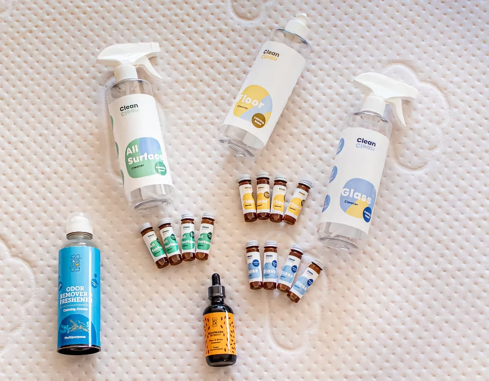 CleanClean featured by the daily mom as one of the best 15 cleaning product brands for the spring