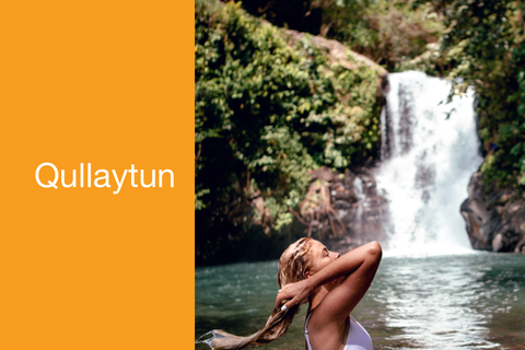 Qullaytun means washing your hair with soapbark extract cleancleanme